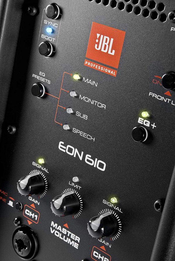 JBL EON 610 PA Speaker