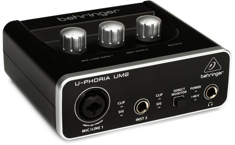 Behringer U-PHORIA Audio Interface