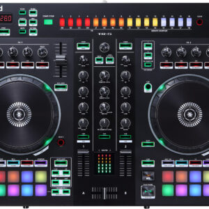 Roland DJ-505 2-deck Serato DJ Controller with Drum Machine