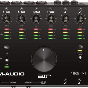 AIR192 | 14 8 In 4 Out Audio/MIDI Interface