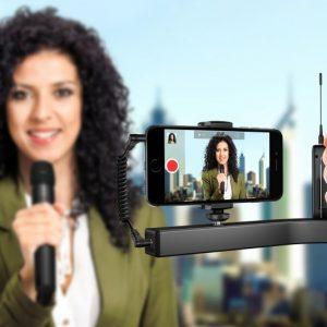 iKlip A/V smartphone broadcast