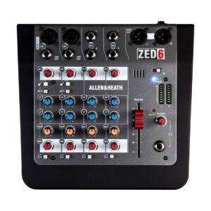 Allen & Heath ZED-6 Compact Mixer