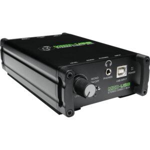 Mackie MDB-USB Stereo USB Direct Box