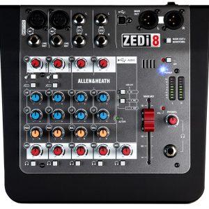 Allen & Heath ZEDi-8 Mixer with USB