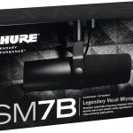 Shure SM7B Cardioid Dynamic Vocal Microphone