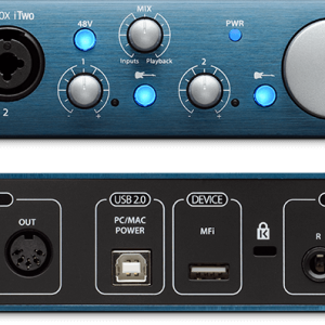 PreSonus AudioBox iTwo USB Audio Interface