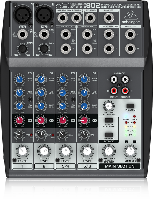 This image has an empty alt attribute; its file name is Behringer-802.png