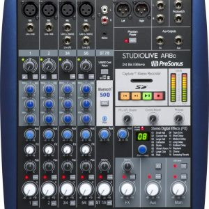 PreSonus StudioLive AR8c Mixer and Audio Interface with Effects
