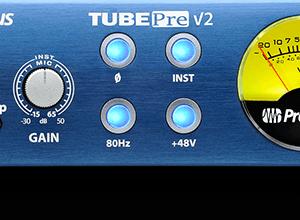 PreSonus TubePre V2 Tube Microphone Preamp