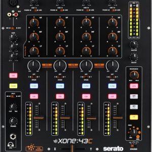 Allen & Heath Xone:43C 4-channel DJ Mixer