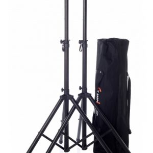 Bespeco - SH80NP - 2 Speaker Stands With Pouch