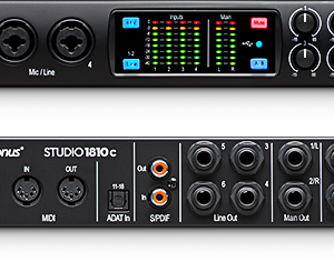 PreSonus Studio 1810c USB-C Audio Interface