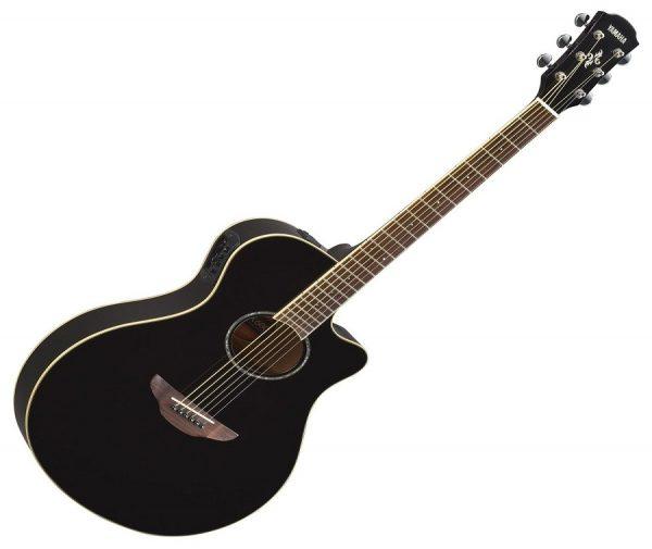 Yamaha APX600BLK Semi-Acoustic Guitar - Black
