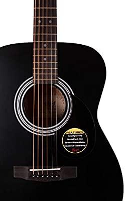 Cort AF510E BKS Semi Acoustic Guitar