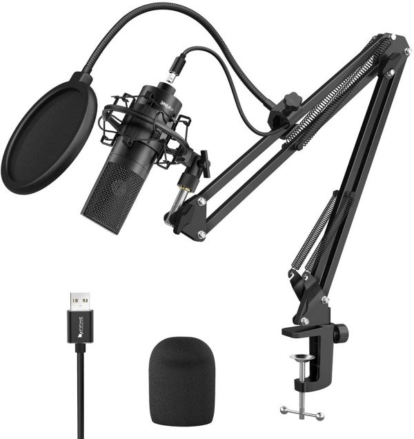 FIFINE USB Streaming Podcast Microphone
