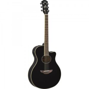 Yamaha APX600BLK Semi-Acoustic Guitar - Black