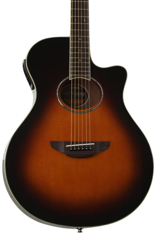 APX600OVS - YAMAHA Electric Acoustic Guitar old VIOLIN