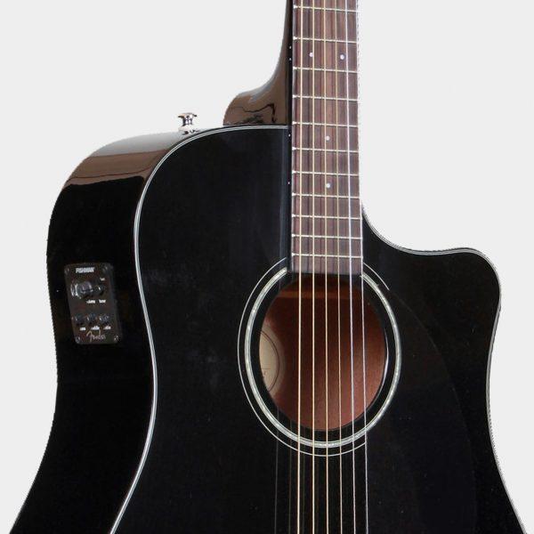 Fender CD-60SCE BLK Dreadnought