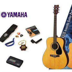 F310P Natural - Acoustic Guitar Package