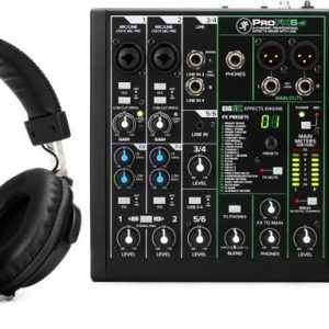 Mackie Performer Bundle with Mixer Microphones and Headphones