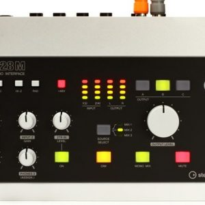 Steinberg UR28M USB Audio Interface and Monitor Controller