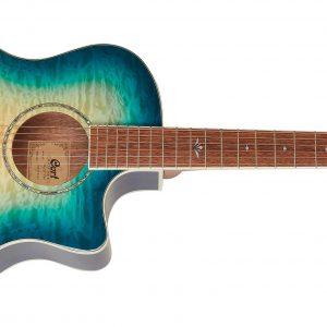 Cort GA-QF CBB Semi Acoustic Guitar