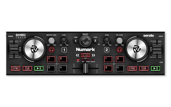 Numark DJ2GO2 Touch 2-channel Serato DJ Controller