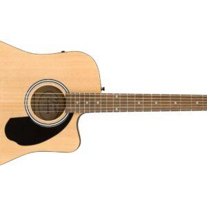 Fender FA-125CE Dreadnought, Walnut Fingerboard Acoustic Guitar