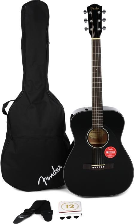 Fender CC-60S Concert Pack - Black
