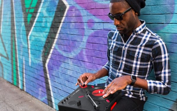 PT01 Scratch Portable Turntable with DJ Scratch Switch