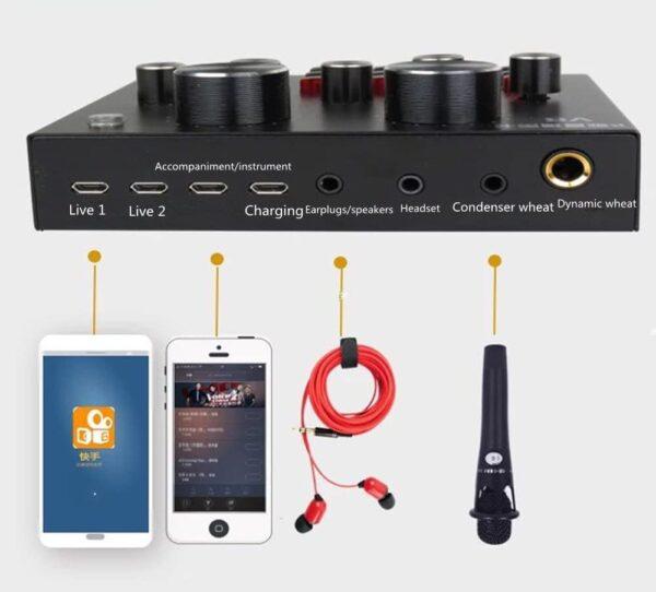 V8 Soundcard / Audio Interface