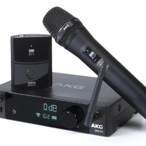 AKG DMS100 Home Wireless Microphone and MS300