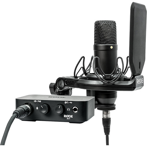 Rode AI-1 Complete Studio Kit with Audio Interface