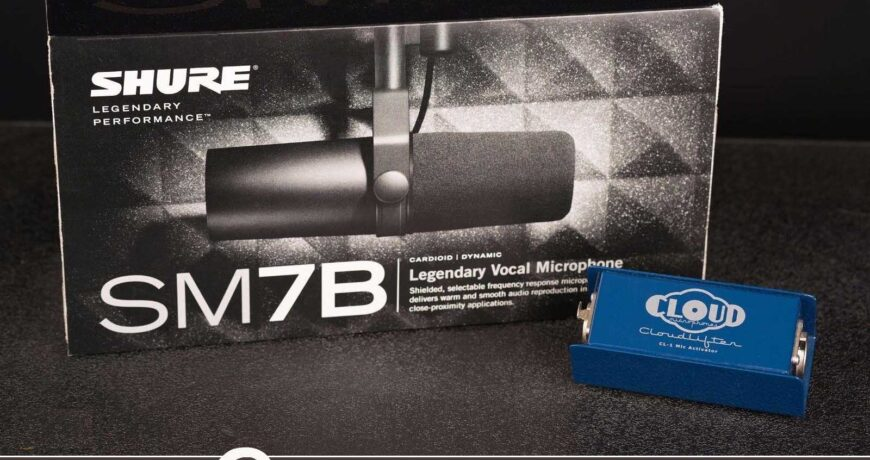 Shure SM7B and CloudLifter