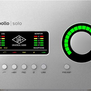 Apollo Solo TB3 Audio Interface