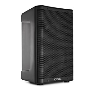 Buy the QSC CP8 powered loudspeaker from PMT Online now and get fantastic audio for just about any application