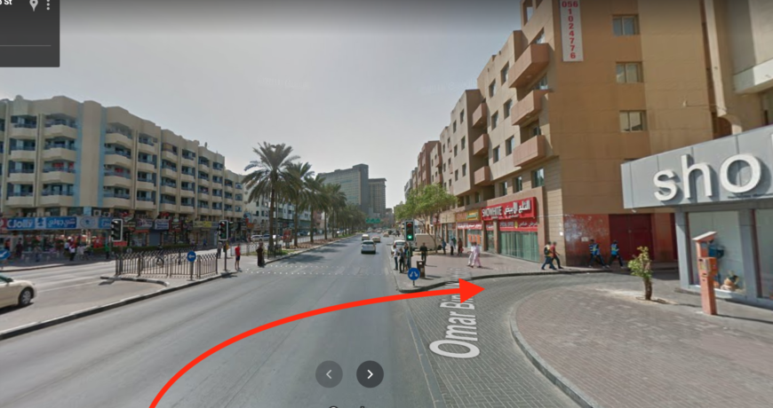 Location to Audio Shop Dubai