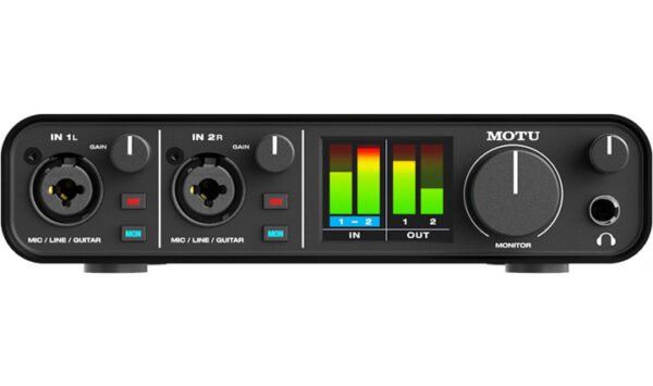 Motu M2 Audio Interface
