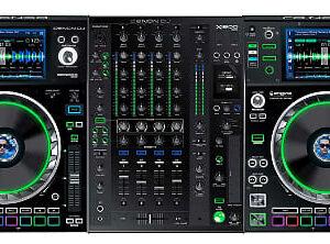 Denon DJ SC500 & X1800 Prime DJ Nightclub Package