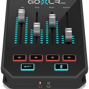 TC HELICON GO XLR MINI Miixer and Audio Interface