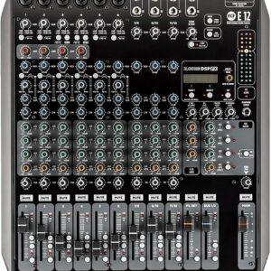 E 12- CHANNEL MIXING CONSOLE