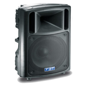 Code: 37859 Configuration: 2 way Recommended amplifier: 400 W RMS Long Term power: 200 W Short term power: 800 W Nominal impedance: 8 ohm Frequency response: 48Hz – 18kHz -6dB Low Frequency woofer: 1×15 – 2.5 coil inch High frequency driver: 1 x 1 – 1.7 coil inch Sensitivity (@1W/1m): 99 dB Maximum SPL cont/peak: 126/130 dB Dispersion: 90° x 60° HxV Crossover Frequency: 1.3 KHz Recommended HP filter: 40Hz – 24dboct Input connector: 2 x Speakon NL4 in & thru Net Dimension (WxHxD): 482x757x399 – 19×29.8×15.7 mm/inch Net Weight: 23.9 / 52.7 kg/lb Transport Dimension (WxHxD): 595x878x515 – 23.4×34.6×20.3 mm/inch Transport Weight: 28.2 / 62.2 kg/lb