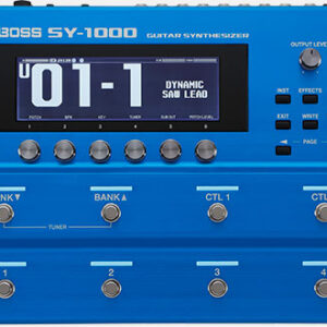 BOSS SY- 1000 Guitar Synthesizer