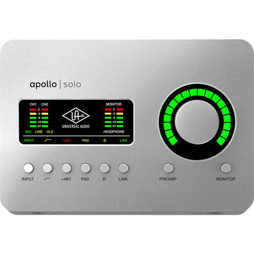 Universal Audio APLSU-HE Apollo Solo USB Heritage Edition Audio Interface