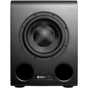 """HEDD BASS 08 - 8"""" 300W Subwoofer Black with DSP"""