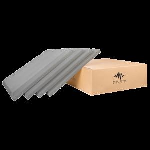 Bash Sound Flat Dark Grey Velvet Acoustic Panel