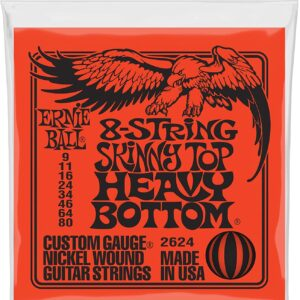 Skinny Top Heavy Bottom Slinky 8-String Electric Guitar Strings