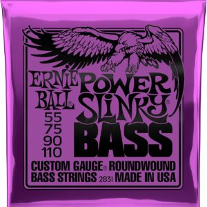 Power Slinky Nickel Wound Electric Bass Strings