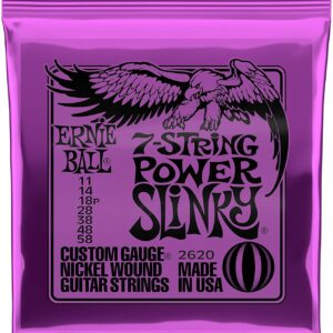 Power Slinky 7 String Nickel Wound Electric Guitar String
