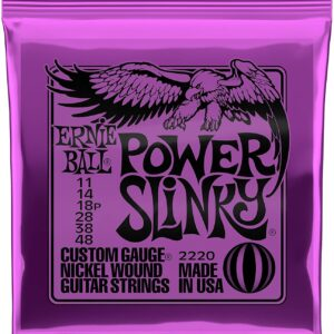Ernieball Power Slinky Nickel Wound Electric Guitar String